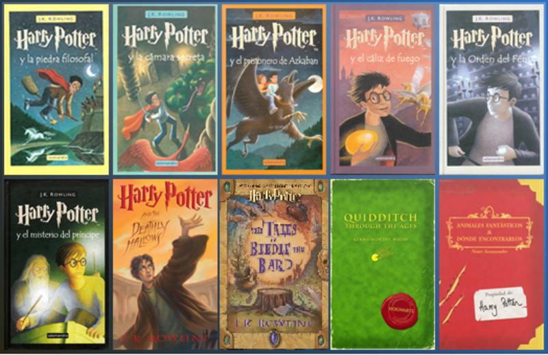 Descargar los 11 libros de harry potter, completos en (pdf) por.