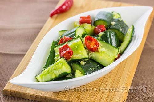 涼拌小黃瓜 Chinese Cucumber Salad02