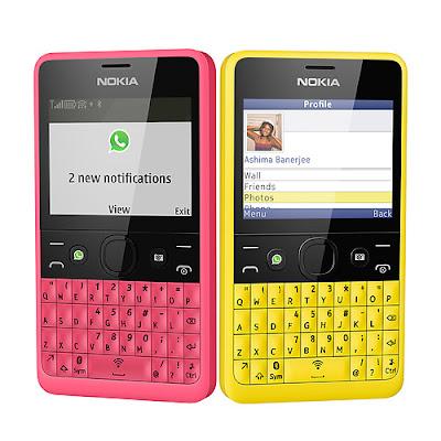 Nokia Asha 210 Terbaru 2013