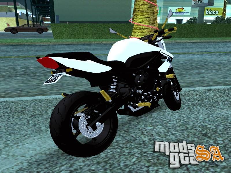 Yamaha Xj6 Aln1001 - Mods GTA San Andreas