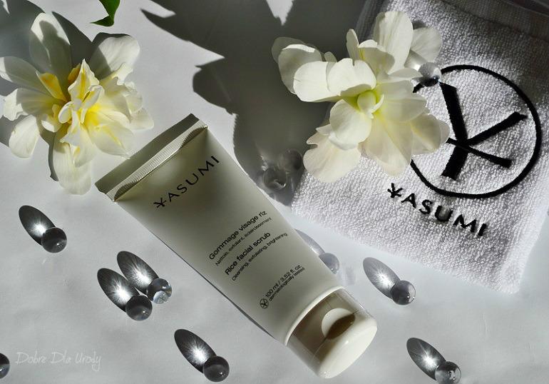 Yasumi Rice Facial Scrub - Odżywczo-rozjaśniający peeling do twarzy