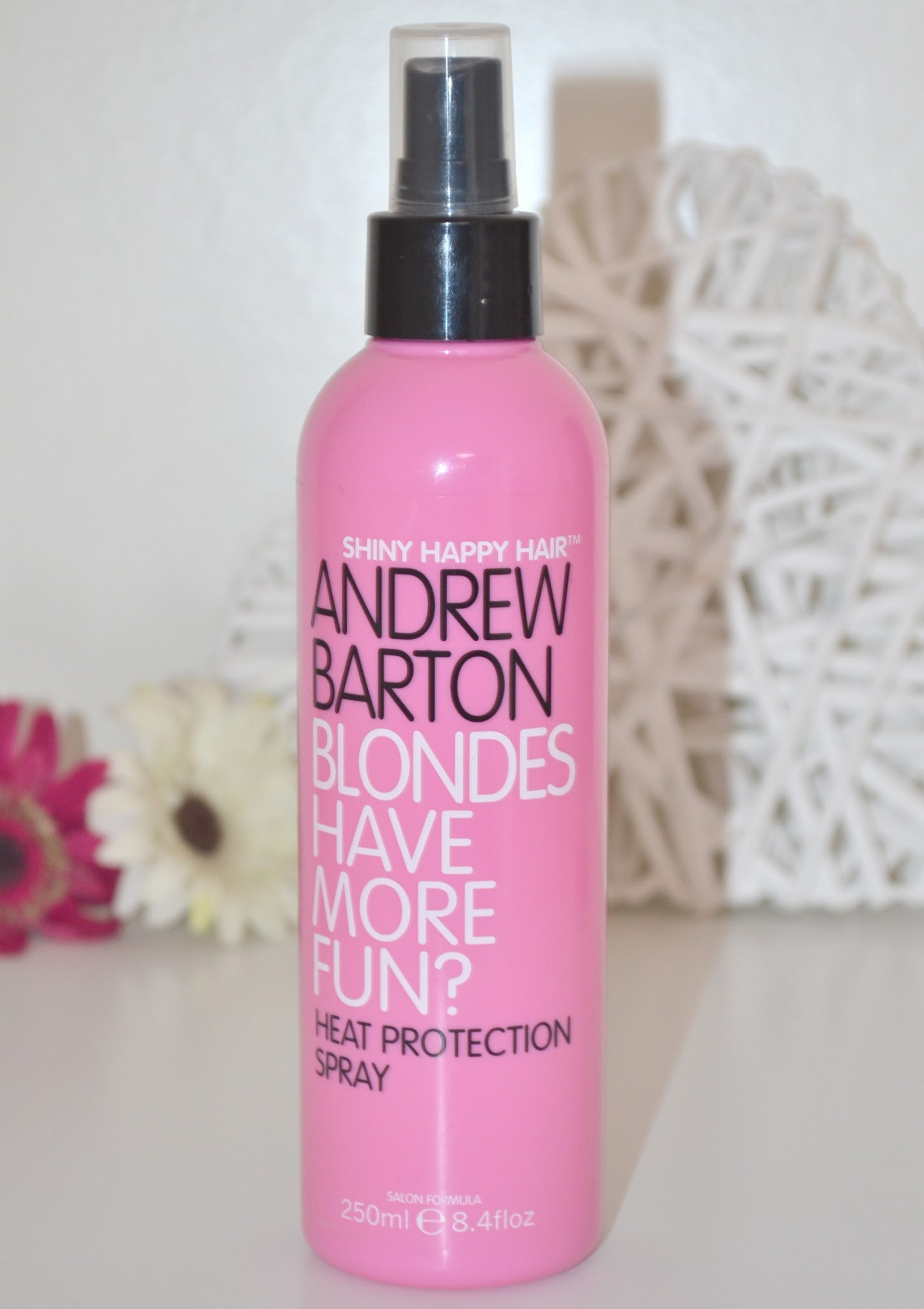 picture of asda, andrew barton, heat protectant, review, blondes have more fun