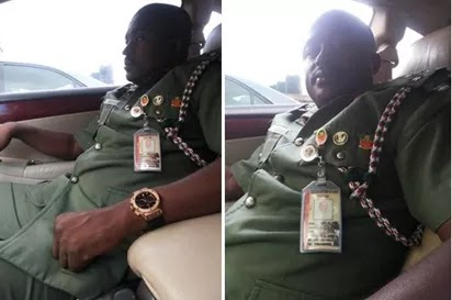 The fake Army General, Aliyu Hussaini