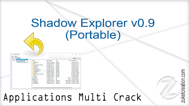 Shadow Explorer v0.9 (Portable) |  1.00 MB