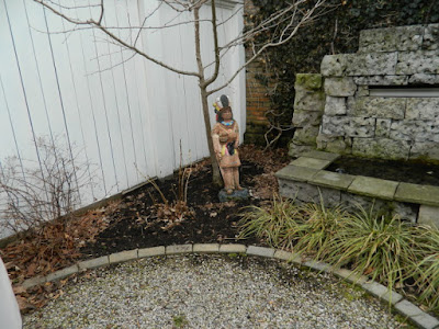 Summerhill Toronto before spring garden cleanup by Paul Jung Gardening Services