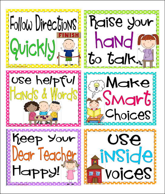 Inspired by Kindergarten: Behavior Charts....here's what I ...