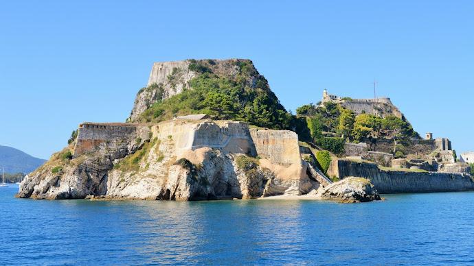 Wallpaper: Corfu Town