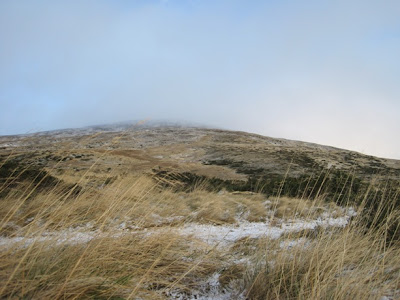 hillwalking path up Morven, Deeside, Cairngorms National Park