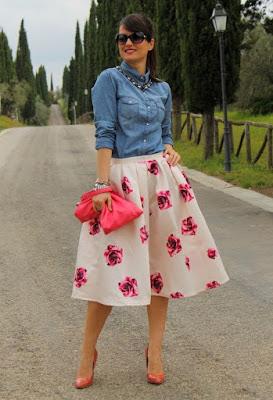 Faldas de moda para jovencitas