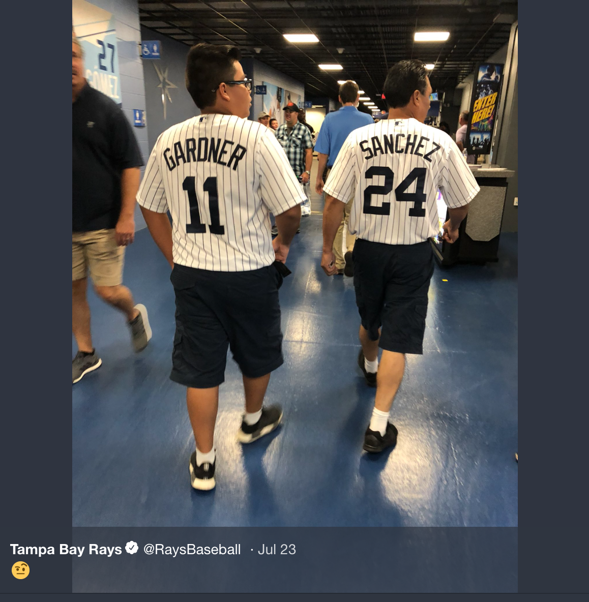 sports shoes 70454 7df64 TheMediagoon.com: Tampa Bay Rays twitter taking shots at ...