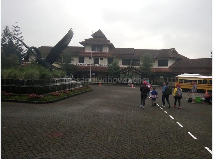 Taman Bunga Nusantara tempat liburan yang eksotis nan indah
