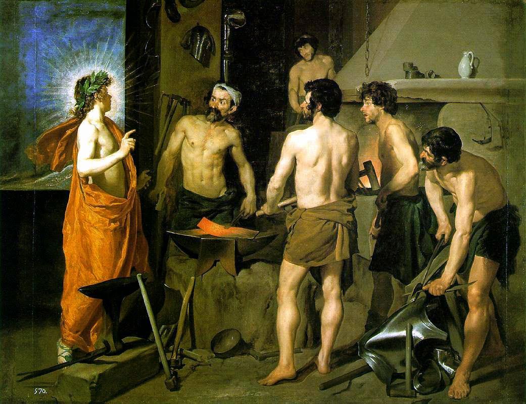 La fragua de Vulcano - Velázquez