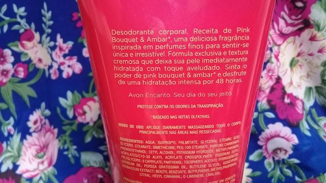 Resenha Creme Hidratante Encanto Avon