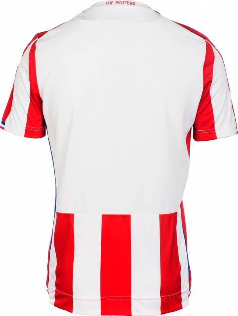 Macron apresenta as novas camisas do Stoke City - Show de Camisas 99ebdac742a78