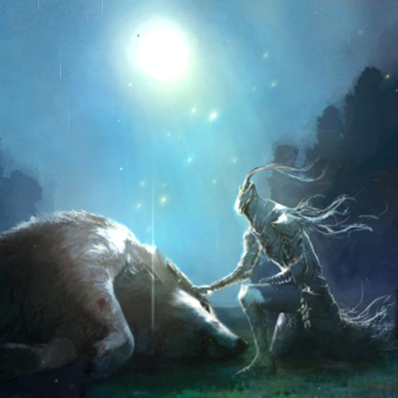 Dark Souls 1 Artorias and Sif Wallpaper Engine