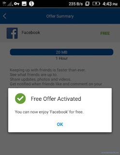 Switch Free Internet Offer