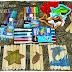 Puzzle z patyczków handmade