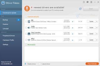 برنامج Driver Talent 6.4.38.128 لتحديث التعريفات