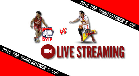 Livestream List: Columbian vs SMB June 6, 2018 PBA Commissioner's Cup