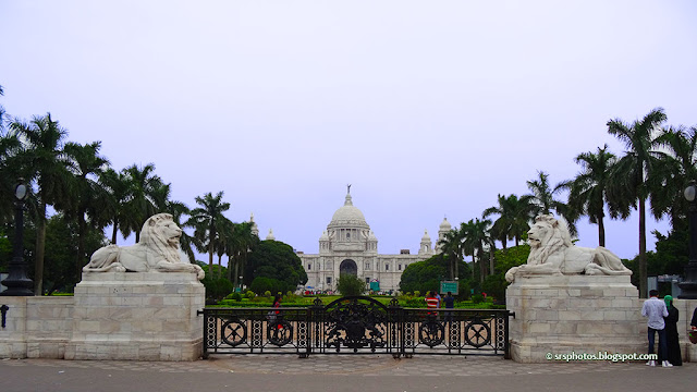 Main Entrance Gate of Victoria Memorial, Kolkata