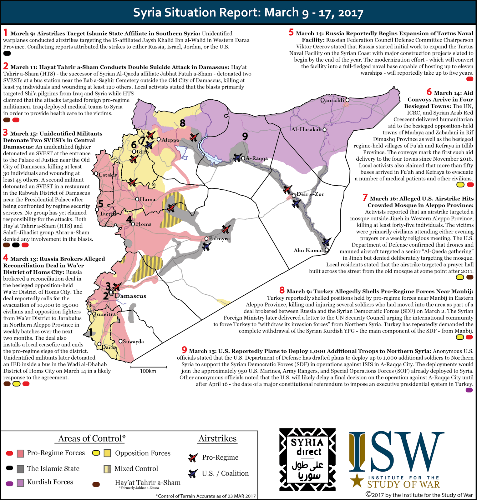 ISW Blog Syria Situation Report March 9 17 2017