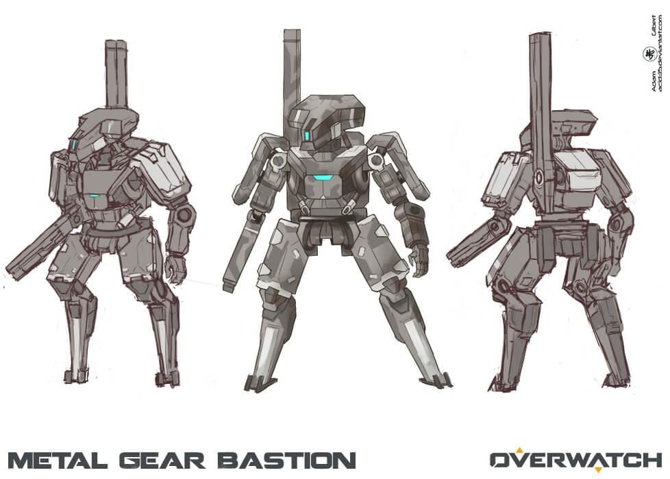 Metal Gear Bastion by ACID35