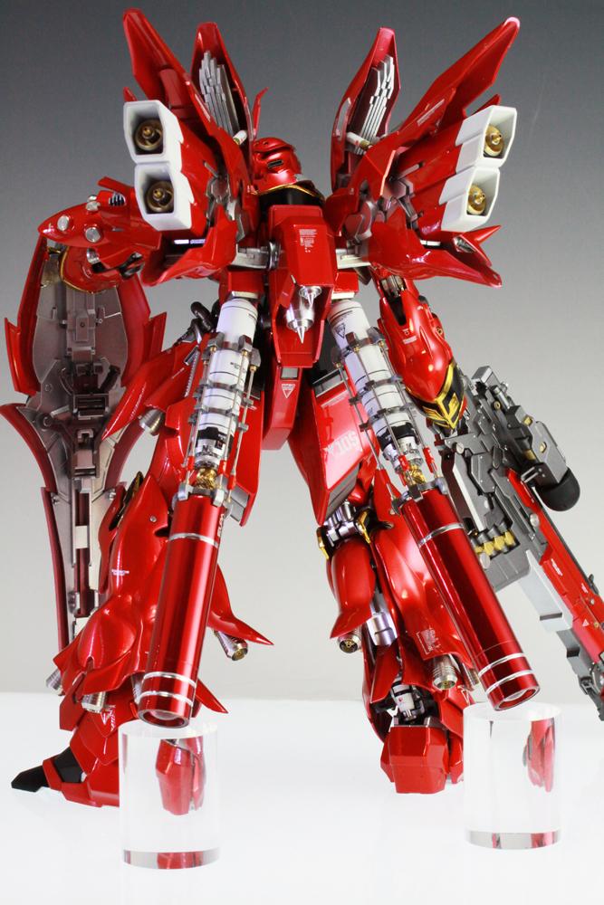 Custom Build: MG 1/100 MSN-06S Sinanju - Gundam Kits ...