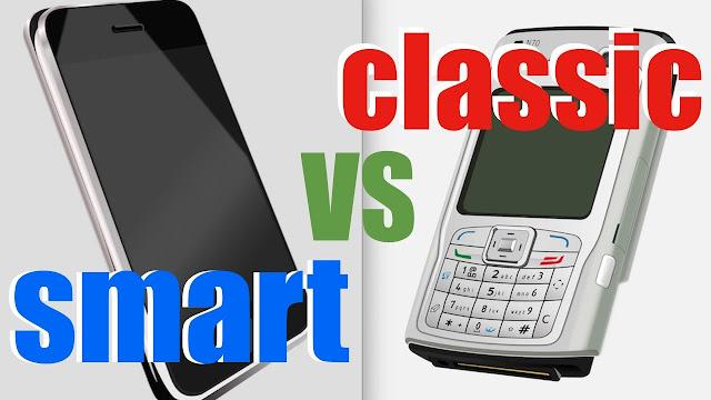 Different Between Smartphones Vs Cell Phones