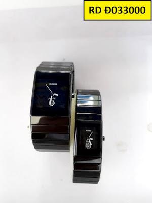 đồng hồ cặp đôi Rado RD D033000
