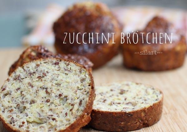 Zucchini Brötchen