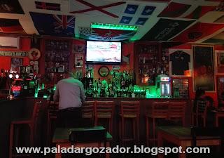Saint Patrick´s Day, Pub Irlandés barra bar