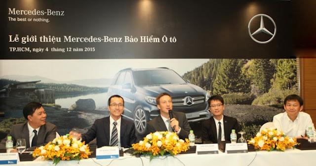 Lễ giới thiệu Bảo hiểm Mercedes Việt Nam
