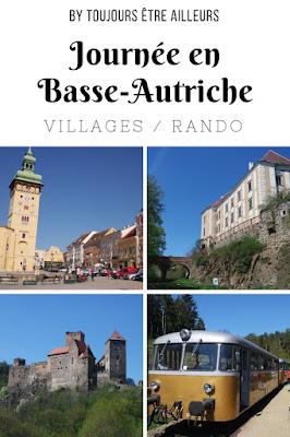 Idée d'excursion à la journée en Basse-Autriche: de Retz et ses caves souterraines au parc national de Thayatal à la frontière tchèque, idéal pour la randonnée, en passant par le village médiéval de Drosendorf. #Austria #travel #hiking #LowerAustria