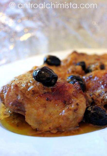 Pollo alla Vernaccia e Zafferano