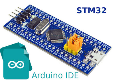 "Set up STM32 ""blue pill"" for Arduino IDE"