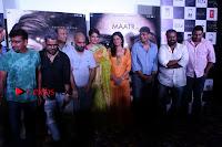 Bollywood Actress Raveena Tandon in Transparent Green Saree at Trailer Launch Of Film Maatr  0030.JPG