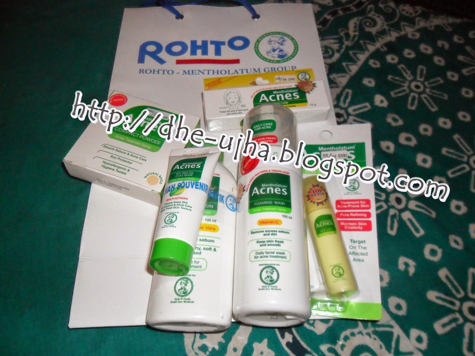 rangkaian produk acnes skin care