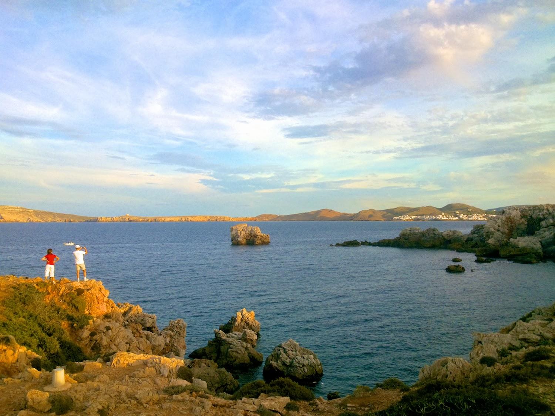 Costa Norte junto Faro de Cavalleria