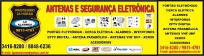 Venda, Instalação e Manutenção Portão Eletrônico, Interfone, Cerca Elétrica