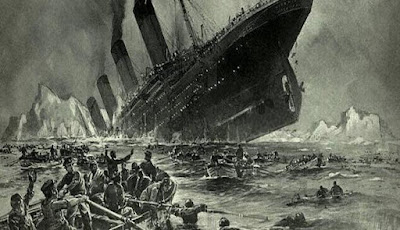 Teori Baru: Titanic Tenggelam Bukan Karena Gunung Es