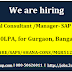 Hiring Functional Consultant/Manager- SAP S/4 HANA, 5-12Yrs, 18-30LPA, for Gurgaon, Bangalore, Mumbai 3QACT54RE/SAPS/4HANA-CONS/MGR512Y1830LG