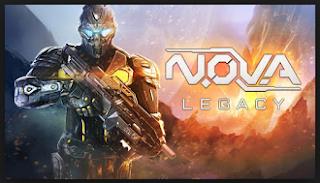 N.O.V.A. Legacy V1.0.6 MOD Apk ( Mega MOD )