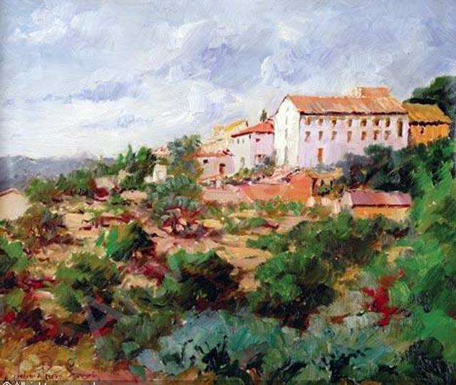 Antonio Pérez Sanz, Paisajistas españoles, Pintor Español, Pintores españoles