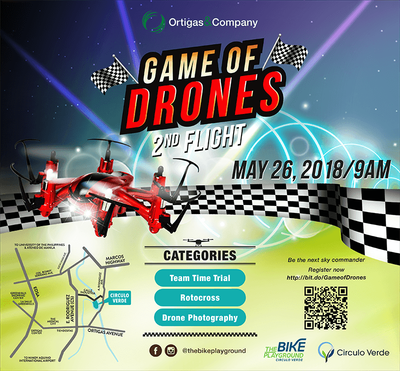 Game of Drones contest now on its 2nd flight