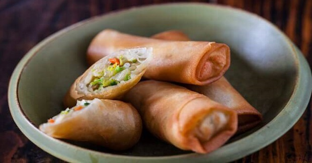 Vegetable Egg Rolls Recipe