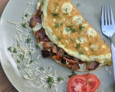 Ratatouille Omelettes