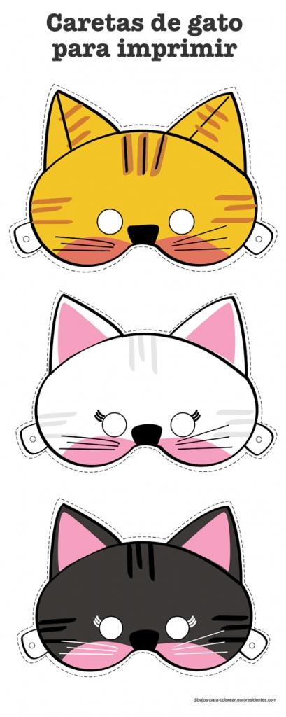 caretas-gato-imprimir
