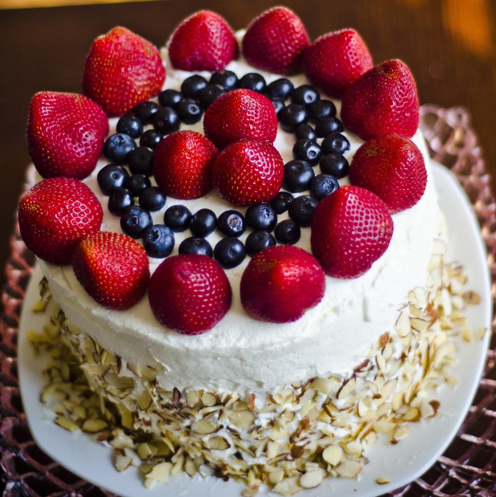Easy Watermelon cake