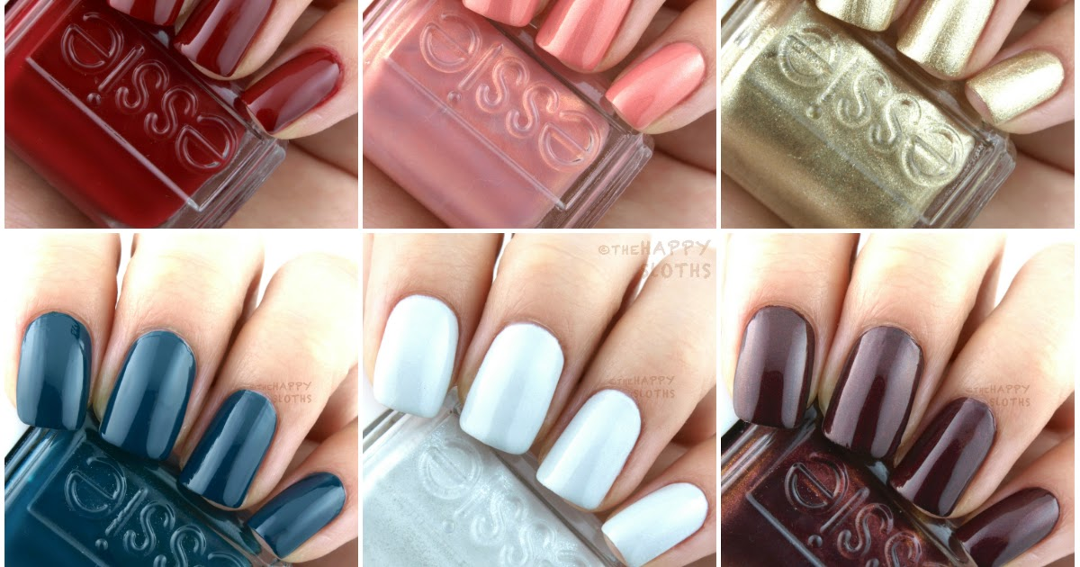essie winter 2016 getting groovy collection  review and swatches