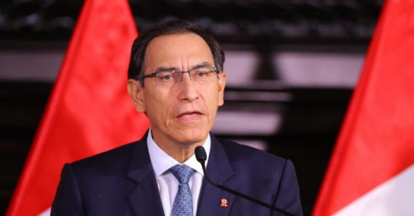 Presidente Martín Vizcarra tomará hoy juramento a nuevo ministro de Justicia